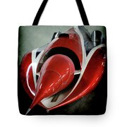 Jet Car Tote Bag