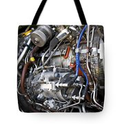 Jet Engine Tote Bag