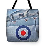 Jet Fighter By John Springfield Tote Bag