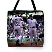 Jeter And Torre Tote Bag