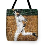 Jeter Walk-off Mosaic Tote Bag