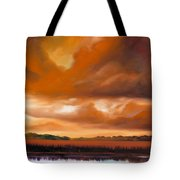 Jetties On The Shore Tote Bag by James Christopher Hill