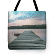 Jetty Sunset Tote Bag