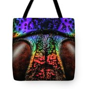 Jewel Beetle Detail Tote Bag