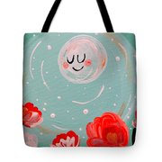 Jewel Moon Tote Bag