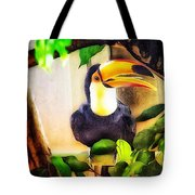 Jewel Of The Amazon Toco Toucan  Tote Bag