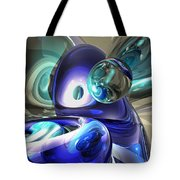 Jewel Of The Nile Abstract Tote Bag