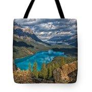 Jewel Of The Rockies Tote Bag