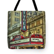 Jewel Of The South Tivoli Chattanooga Historic Theater Art Tote Bag