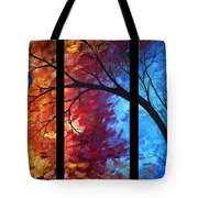 Jewel Tone II By Madart Tote Bag