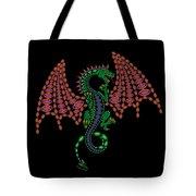 Jeweled Dragon Tote Bag