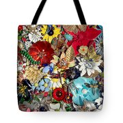 Jeweled Garden Tote Bag