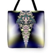 Jeweled Icicle Fractal 136 Tote Bag