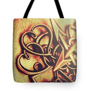 Jewelry Love Background Tote Bag