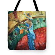 Jewelry Shopping Tote Bag