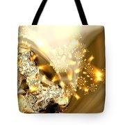 Jewels And Satin Tote Bag
