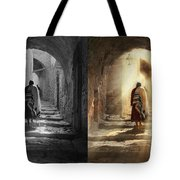 Jewish - Evening Prayers 1934 - Side By Side Tote Bag