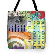 Jewish Life 1- Art By Linda Woods Tote Bag