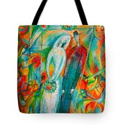 Jewish Wedding Tote Bag
