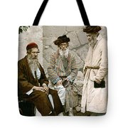 Jews In Jerusalem, C1900 Tote Bag
