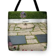 Jfk Eternal Flame Memorial Tote Bag