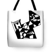Jigsaw Tote Bag