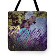 Jill Purple Tote Bag