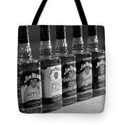 Jim Beam Bottles Tote Bag