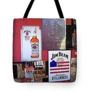 Jim Beam Signs On Display Tote Bag