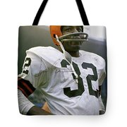 Jim Brown, Cleveland Browns, Signed Tote Bag