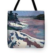 Jim Day Winter Tote Bag