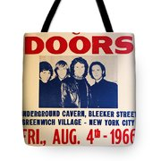 Jim Morrison And The Doors Poster Collection 3 Tote Bag