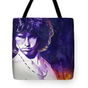 Jim Morrison Tote Bag