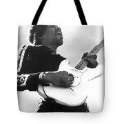 Jimi Hendrix (1942-1970) Tote Bag by Granger