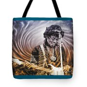 Jimi Hendrix - Legend Tote Bag