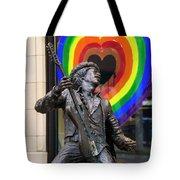 Jimi Hendrix Love On Capitol Hill Tote Bag