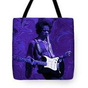 Jimi Hendrix Purple Haze Tote Bag
