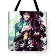 Jimi Hendrix, The Legend Tote Bag