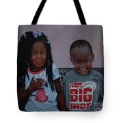 Jimia And Mr Bigshot Tote Bag