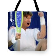 Jimmy Connors Tote Bag