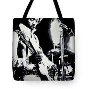 Jimmy Hendrix Purple Haze Tote Bag