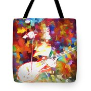 Jimmy Page Jamming Tote Bag