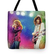 Jimmy Page - Robert Plant Tote Bag