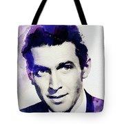 Jimmy Stewart, Vintage Actor Tote Bag