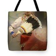 Pow Wow Jingle Dancer 1 Tote Bag