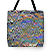 Jittery Colors Tote Bag