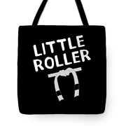 Jiu Jitsu Bjj Little Roller White Light Tote Bag