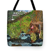 Jiuzhai Valley Tote Bag