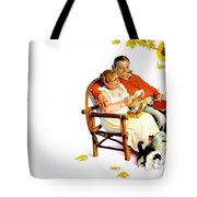 Jlm-norman Rockwell 28 Norman Rockwell Tote Bag