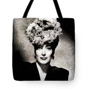 Joan Crawford, Hollywood Legend By John Springfield Tote Bag